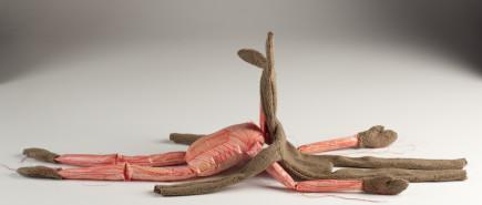 figurative textile sculpture hare skinned Jody MacDonald