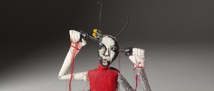 figurative textile sculpture guns Jody MacDonald